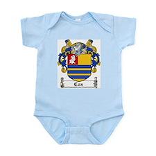 Cox Coat of Arms Infant Creeper