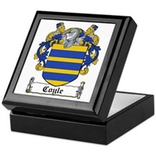 Coyle Coat of Arms Keepsake Box