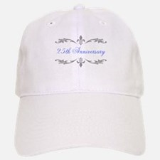 25th Wedding Anniversary Baseball Baseball Cap