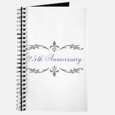 25th Wedding Anniversary Journal