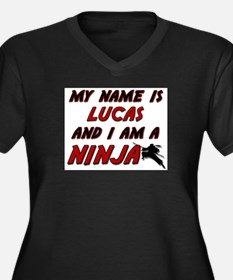my name is lucas and i am a ninja Women's Plus Siz