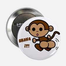 "Monkey Shake 2.25"" Button"