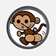 Monkey Shake Wall Clock
