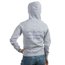 15th Wedding Anniversary Zip Hoodie