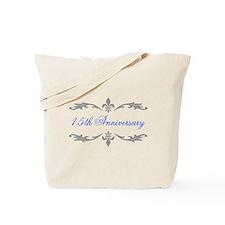 15th Wedding Anniversary Tote Bag