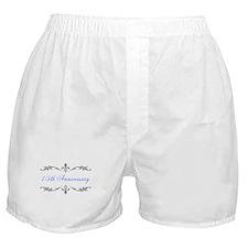 15th Wedding Anniversary Boxer Shorts