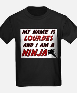 my name is lourdes and i am a ninja T