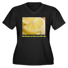 When Life Gives You Lemons Women's Plus Size V-Nec
