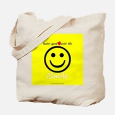 Funny American smiley face Tote Bag