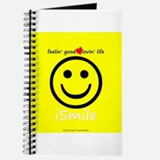 Funny American smiley face Journal
