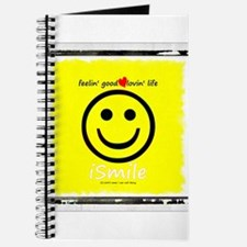 Cool American smiley face Journal