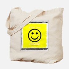 Cool American smiley face Tote Bag