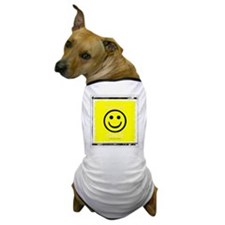 Funny American smiley face Dog T-Shirt