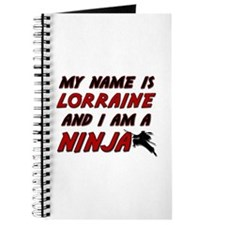 my name is lorraine and i am a ninja Journal