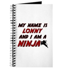 my name is lonny and i am a ninja Journal