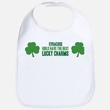 Syracuse lucky charms Bib