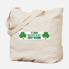 St Joseph lucky charms Tote Bag
