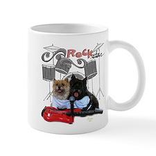 Rockin' Cairn Terrier Small Mug