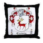 Cremin Coat of Arms Throw Pillow