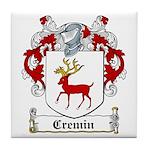 Cremin Coat of Arms Tile Coaster