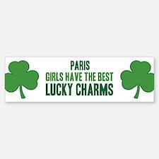 Paris lucky charms Bumper Bumper Bumper Sticker