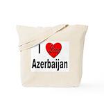 I Love Azerbaijan Tote Bag