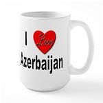 I Love Azerbaijan Large Mug