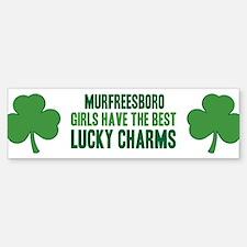 Murfreesboro lucky charms Bumper Bumper Bumper Sticker