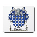 Cronin Coat of Arms Mousepad