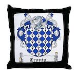 Cronin Coat of Arms Throw Pillow