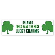 Orlando lucky charms Bumper Bumper Sticker
