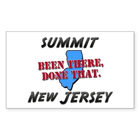 summit new jersey - been there, done that Sticker
