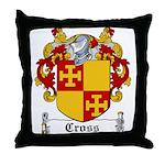 Cross Coat of Arms Throw Pillow