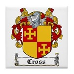 Cross Coat of Arms Tile Coaster