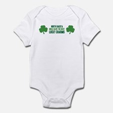 North Dakota lucky charms Infant Bodysuit