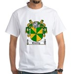 Crotty Coat of Arms White T-Shirt