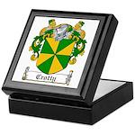 Crotty Coat of Arms Keepsake Box
