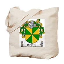 Crotty Coat of Arms Tote Bag