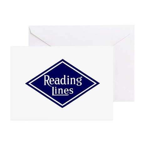 Reading Lines Greeting Cards (Pk of 10)