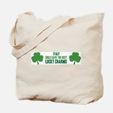Italy lucky charms Tote Bag