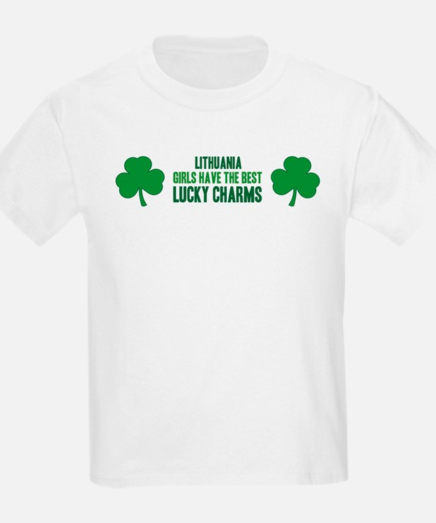 Lithuania lucky charms T-Shirt