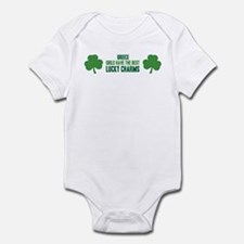 Greece lucky charms Infant Bodysuit