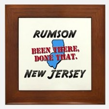 rumson new jersey - been there, done that Framed T