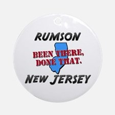 rumson new jersey - been there, done that Ornament