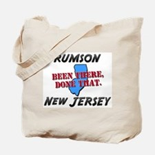 rumson new jersey - been there, done that Tote Bag