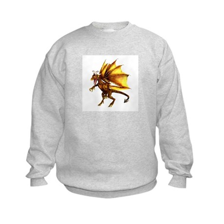 Yellow Dragon Kids Sweatshirt