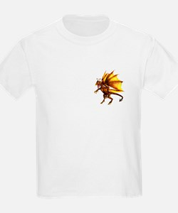Yellow Dragon Kids T-Shirt