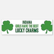 Indiana lucky charms Bumper Bumper Bumper Sticker