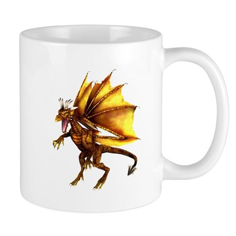 Yellow Dragon Mug
