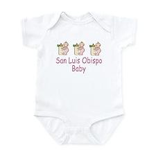 San Luis Obispo Baby Infant Bodysuit